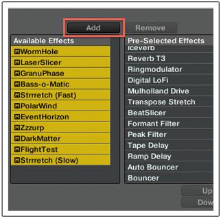 Añadiendo efectos en Traktor V2.6